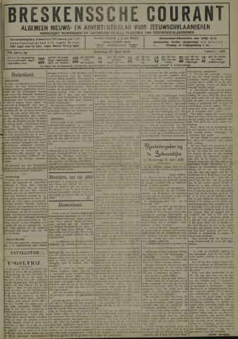 Breskensche Courant 1929-04-27