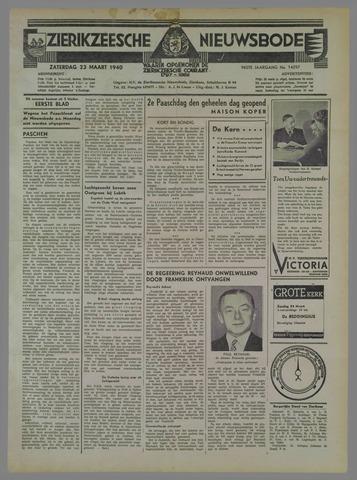 Zierikzeesche Nieuwsbode 1940-03-23