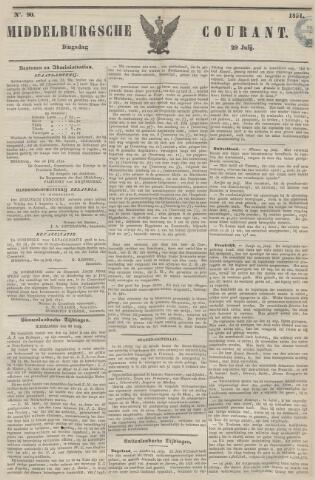 Middelburgsche Courant 1851-07-29