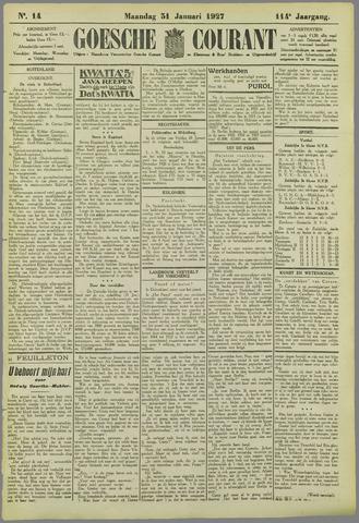 Goessche Courant 1927-01-31