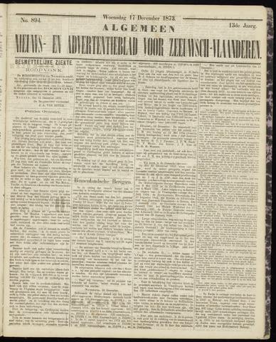 Ter Neuzensche Courant. Algemeen Nieuws- en Advertentieblad voor Zeeuwsch-Vlaanderen / Neuzensche Courant ... (idem) / (Algemeen) nieuws en advertentieblad voor Zeeuwsch-Vlaanderen 1873-12-17