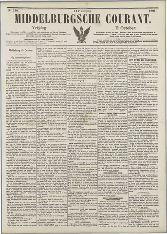 Middelburgsche Courant 1901-10-11