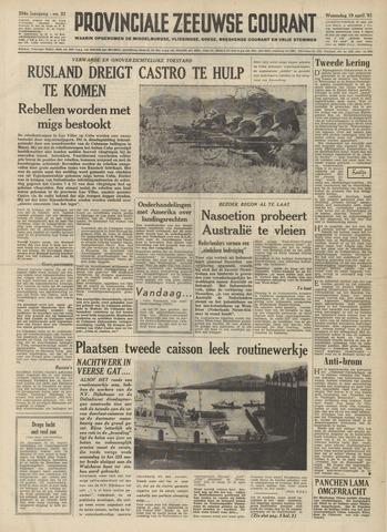 Provinciale Zeeuwse Courant 1961-04-19