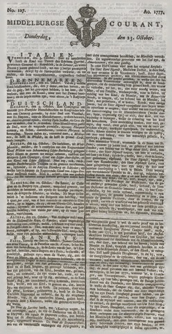 Middelburgsche Courant 1777-10-23
