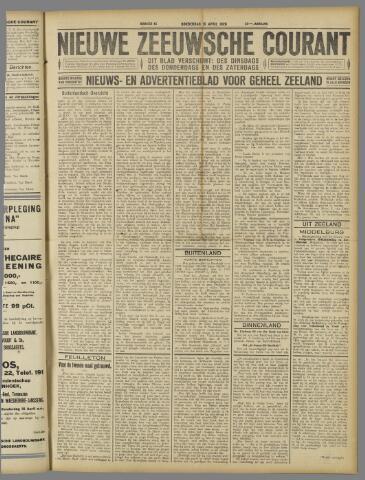 Nieuwe Zeeuwsche Courant 1926-04-15