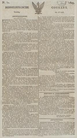 Middelburgsche Courant 1827-04-28