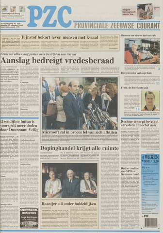 Provinciale Zeeuwse Courant 1998-10-20