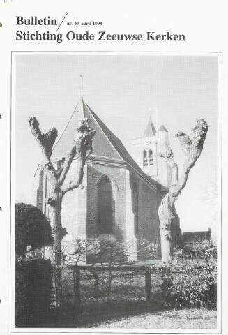 Bulletin Stichting Oude Zeeuwse kerken 1998-04-01
