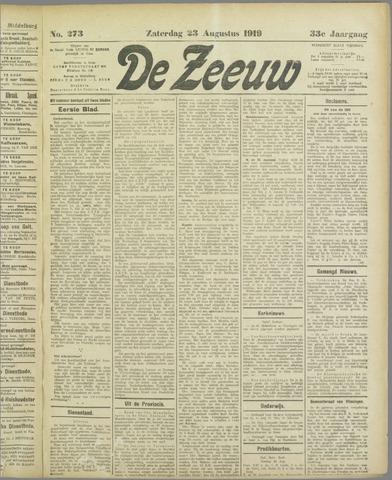 De Zeeuw. Christelijk-historisch nieuwsblad voor Zeeland 1919-08-23