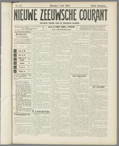 Nieuwe Zeeuwsche Courant 1907-07-02