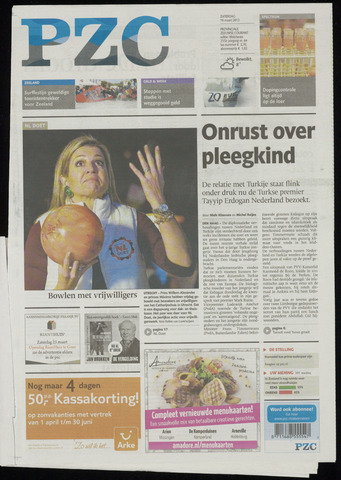 Provinciale Zeeuwse Courant 2013-03-16