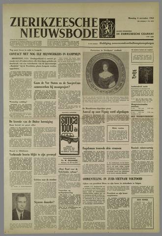 Zierikzeesche Nieuwsbode 1963-11-04