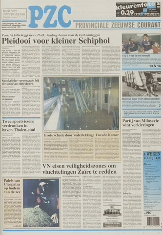 Provinciale Zeeuwse Courant 1996-11-04