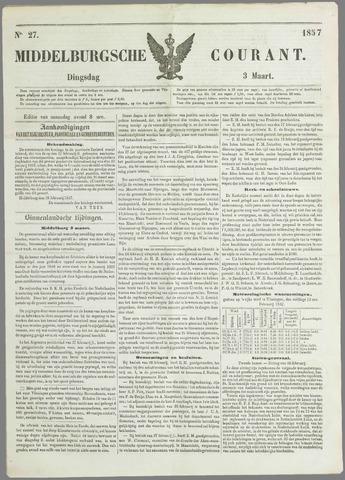 Middelburgsche Courant 1857-03-03