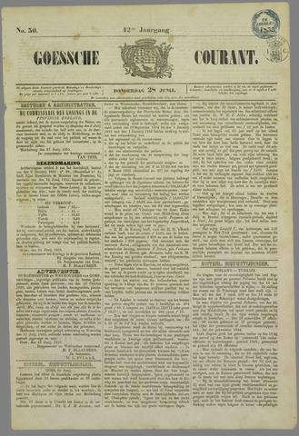 Goessche Courant 1855-06-28