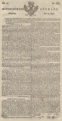 Middelburgsche Courant 1763-04-19