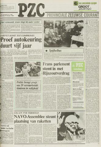 Provinciale Zeeuwse Courant 1983-10-08