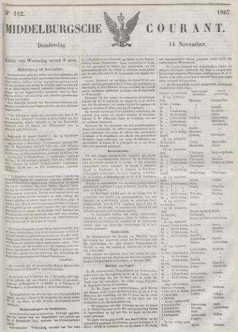 Middelburgsche Courant 1867-11-14