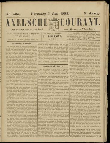 Axelsche Courant 1889-06-05