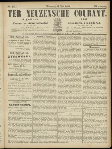 Ter Neuzensche Courant. Algemeen Nieuws- en Advertentieblad voor Zeeuwsch-Vlaanderen / Neuzensche Courant ... (idem) / (Algemeen) nieuws en advertentieblad voor Zeeuwsch-Vlaanderen 1893-05-17