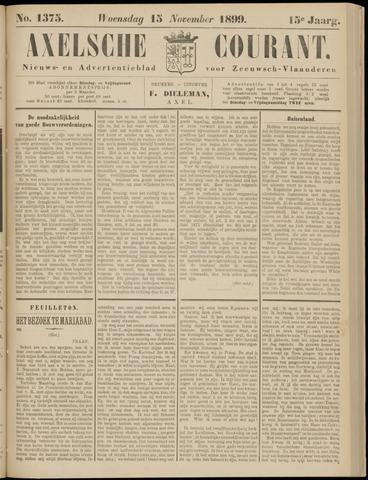 Axelsche Courant 1899-11-15