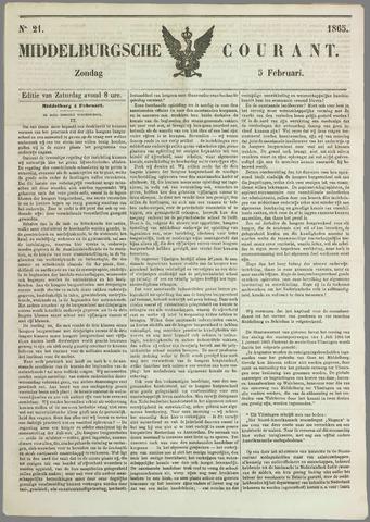 Middelburgsche Courant 1865-02-05
