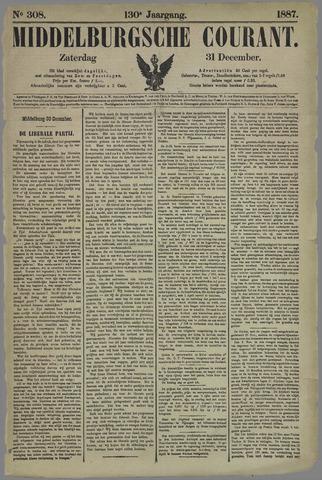 Middelburgsche Courant 1887-12-31