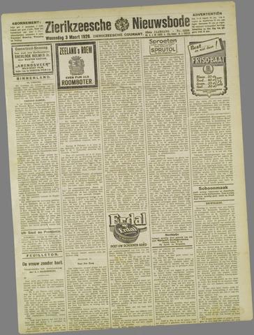 Zierikzeesche Nieuwsbode 1926-03-03