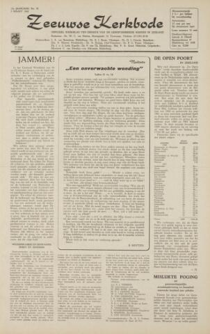 Zeeuwsche kerkbode, weekblad gewijd aan de belangen der gereformeerde kerken/ Zeeuwsch kerkblad 1962-03-02