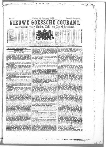 Nieuwe Goessche Courant 1877-11-13