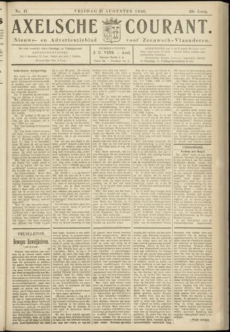 Axelsche Courant 1926-08-27