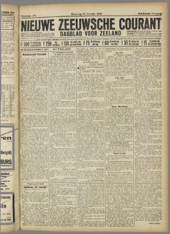 Nieuwe Zeeuwsche Courant 1922-10-16