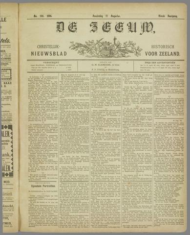 De Zeeuw. Christelijk-historisch nieuwsblad voor Zeeland 1896-08-27