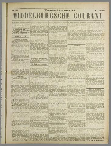 Middelburgsche Courant 1919-08-06