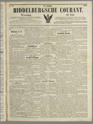 Middelburgsche Courant 1908-07-29