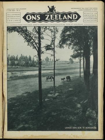 Ons Zeeland / Zeeuwsche editie 1934-06-08