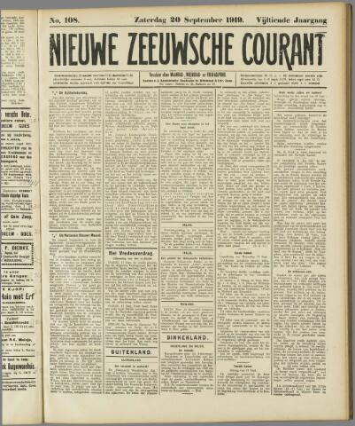 Nieuwe Zeeuwsche Courant 1919-09-20