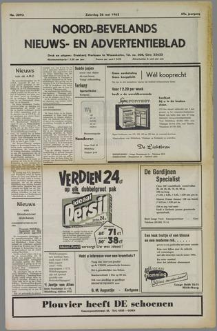 Noord-Bevelands Nieuws- en advertentieblad 1962-05-26