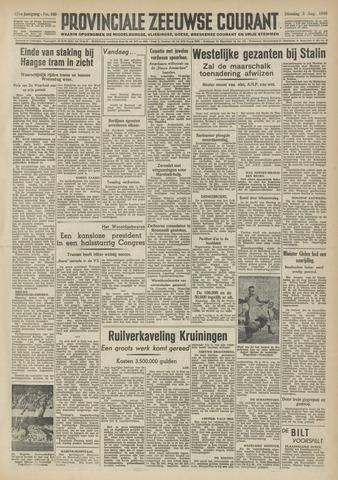 Provinciale Zeeuwse Courant 1948-08-03