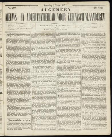 Ter Neuzensche Courant. Algemeen Nieuws- en Advertentieblad voor Zeeuwsch-Vlaanderen / Neuzensche Courant ... (idem) / (Algemeen) nieuws en advertentieblad voor Zeeuwsch-Vlaanderen 1872-03-09