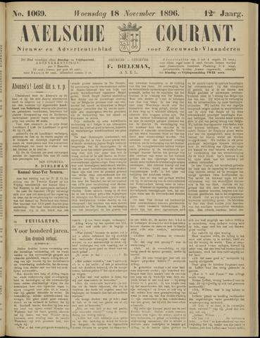 Axelsche Courant 1896-11-18