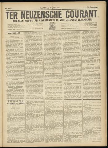Ter Neuzensche Courant. Algemeen Nieuws- en Advertentieblad voor Zeeuwsch-Vlaanderen / Neuzensche Courant ... (idem) / (Algemeen) nieuws en advertentieblad voor Zeeuwsch-Vlaanderen 1932-07-25