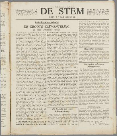 de Stem 1945-02-05