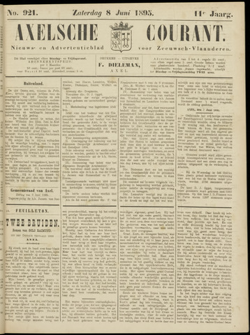 Axelsche Courant 1895-06-08