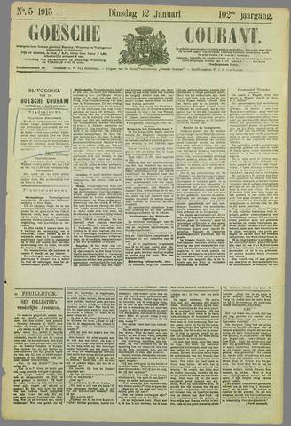 Goessche Courant 1915-01-12