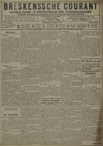 Breskensche Courant 1929-02-27