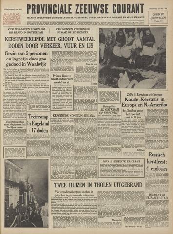 Provinciale Zeeuwse Courant 1962-12-27