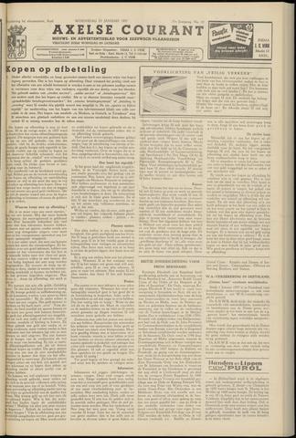Axelsche Courant 1957-01-23