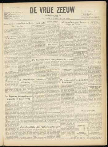 de Vrije Zeeuw 1956-04-26
