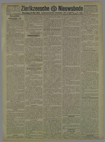 Zierikzeesche Nieuwsbode 1923-05-23